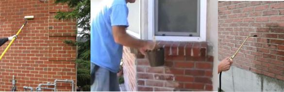 Captivating How To Apply Sealant To Thin Brick Surfaces