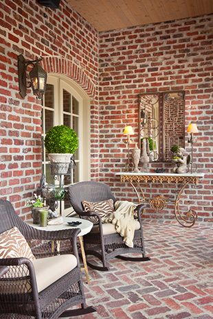 Thin Brick Installation Gallery** ** Corner Brick Tiles Available For All  The Above Options