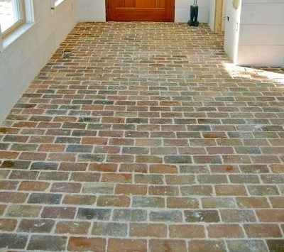 Photo gallery of real thin brick tiles thin brick tile for Brick veneer floor