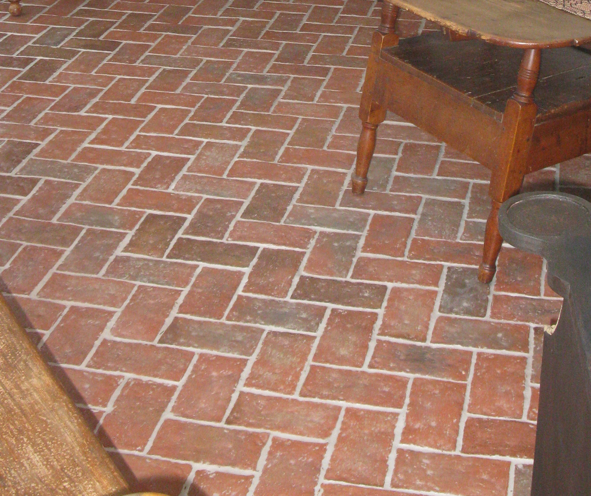 Thin brick color options realthinbrick magnolia thin brick color mix50 of the brick tiles are natural tile variation and 50 have wood ash powder pressed into the brick tile surface dailygadgetfo Gallery