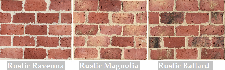 Rustic Brick Veneer Antique Thin Brick Rustic Thin Brick Collection  Brick Tiles For .