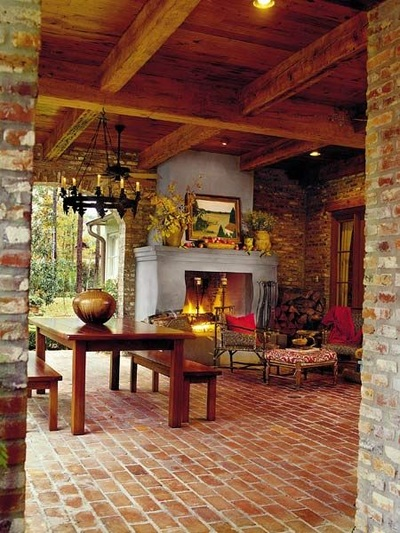 Brick Veneer Collection: Classic Rustic Thin Brick 8 X 4